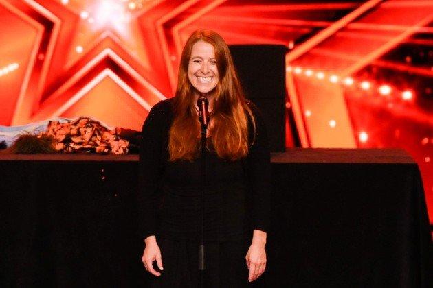 Anne Klinge beim Supertalent am 28.10.2017