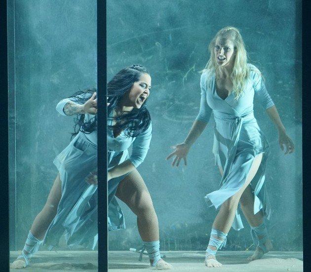 Bahar Kizil -Sandy Mölling im Finale Dance Dance Dance 2017 am 13.10.2017