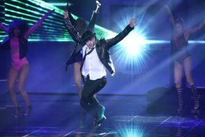 Dance Dance Dance am 6.10.2017 - nicht mein Ding - hier Luca Hänni, der im Solo gut wa
