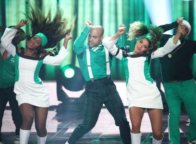 David Odonkor bei Dance Dance Dance am 6.10.2017