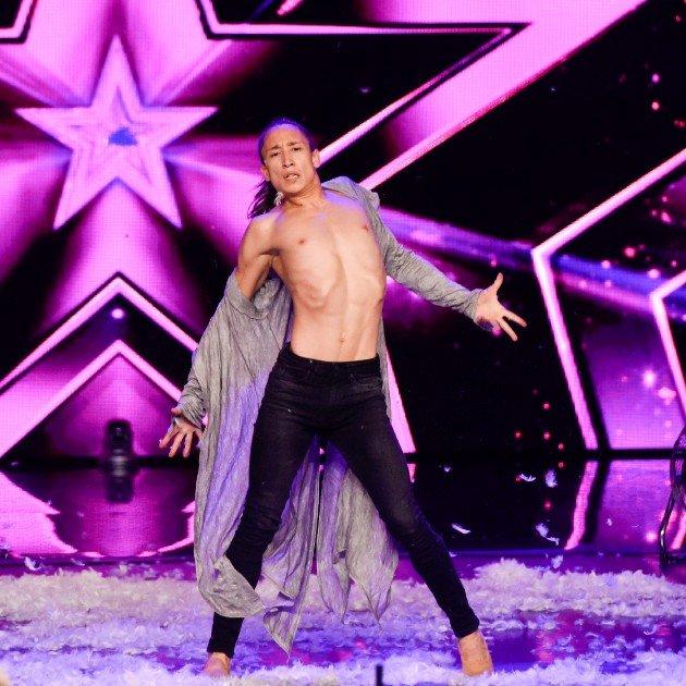 Dennis Mac Dao beim Supertalent am 7.10.2017