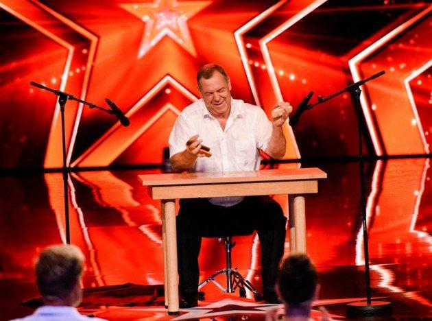 Julius Nötzli beim Supertalent am 28.10.2017