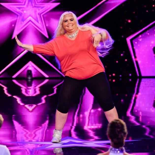 Linda Lutter beim Supertalent am 7.10.2017