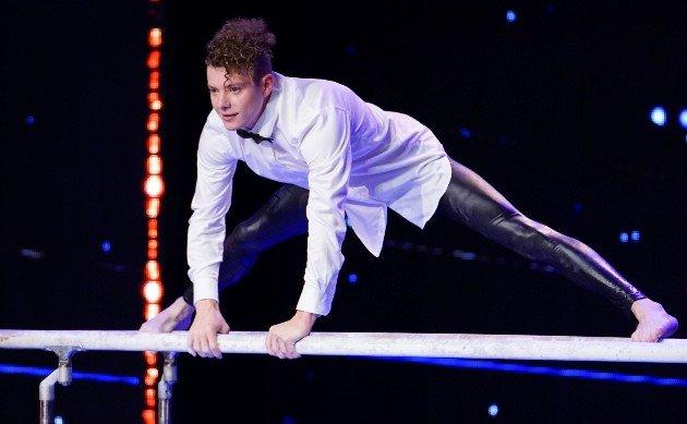 Lucas Fischer beim Supertalent am 28.10.2017