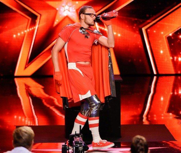 Manuel Sass beim Supertalent am 7.10.2017