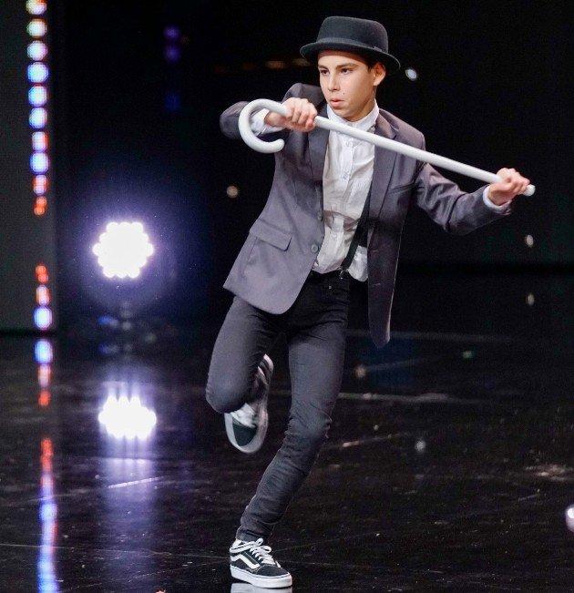 Mattia Pau beim Supertalent am 28.10.2017
