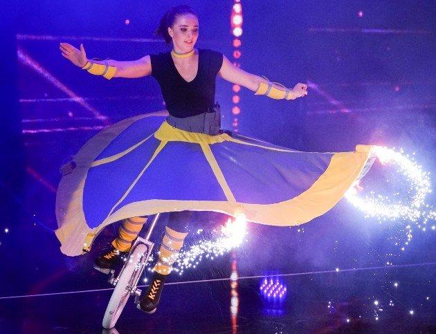 Nina Herzog beim Supertalent am 28.10.2017