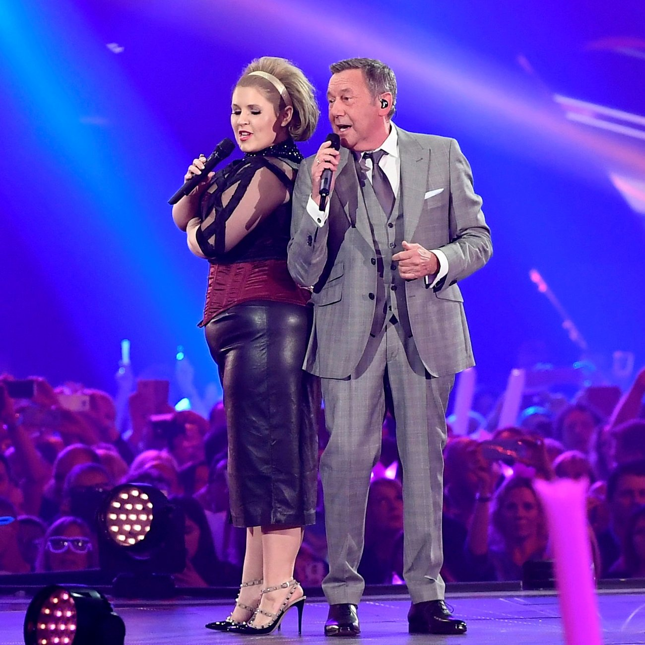 Roland Kaiser und Maite Kell beim Schlagerbooom 2017 am 21.10.2017