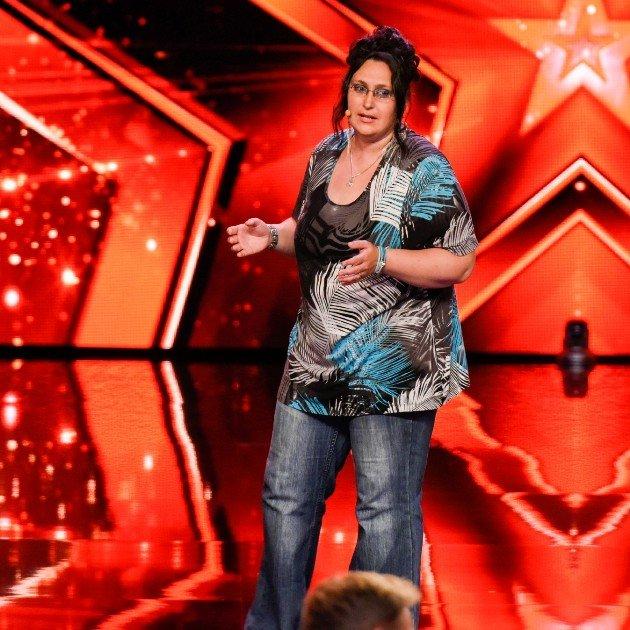 Sarah Petri beim Supertalent am 28.10.2017