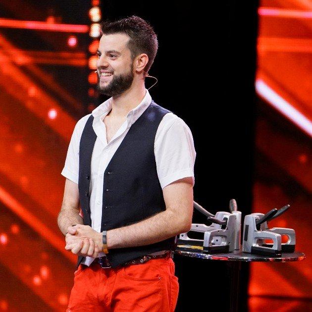 Sascha Wittke beim Supertalent am 28.10.2017