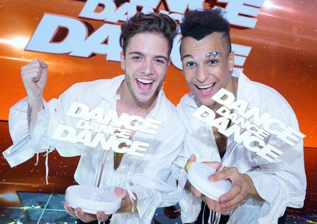 Sieger Dance Dance Dance 2017 - Luca Hänni - Prince Damien