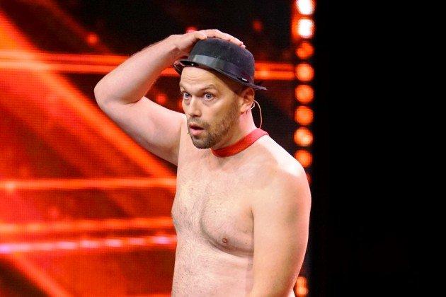 Blake Eduardo beim Supertalent am 4.11.2017
