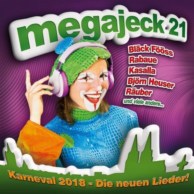 Bunte Karnevals-CD Megajeck 21
