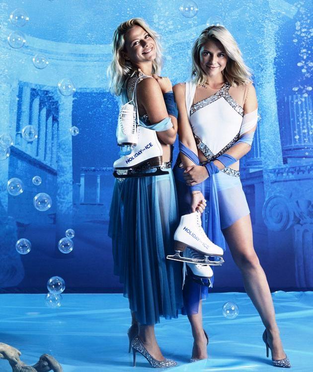 Cheyenne Pahde und Valentina Pahde bei Holiday on Ice Atlantis