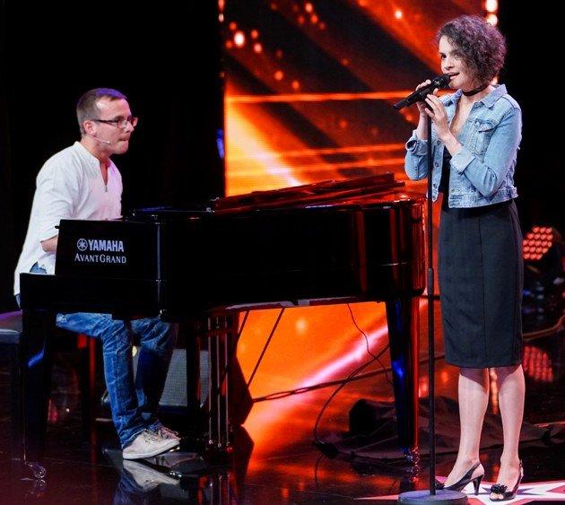 Daniel Spiner und Andrea Buckova beim Supertalent am 4.11.2017