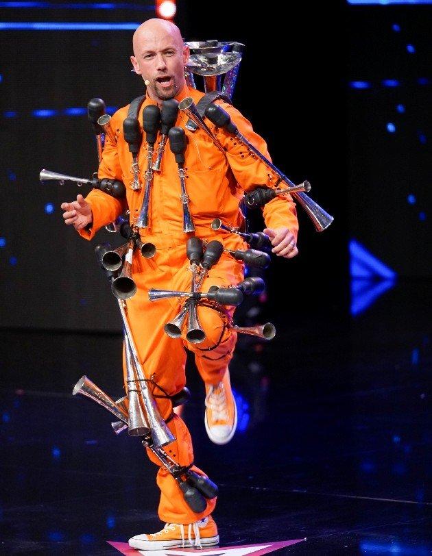 Dave Enns beim Supertalent am 4.11.2017