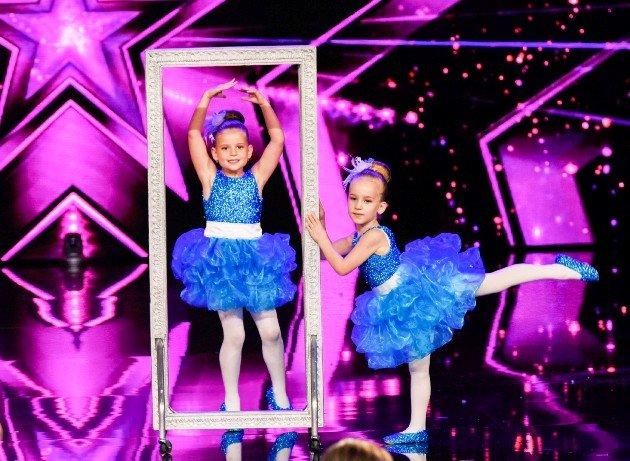 Diana und Viktoria beim Supertalent am 25.11.2017