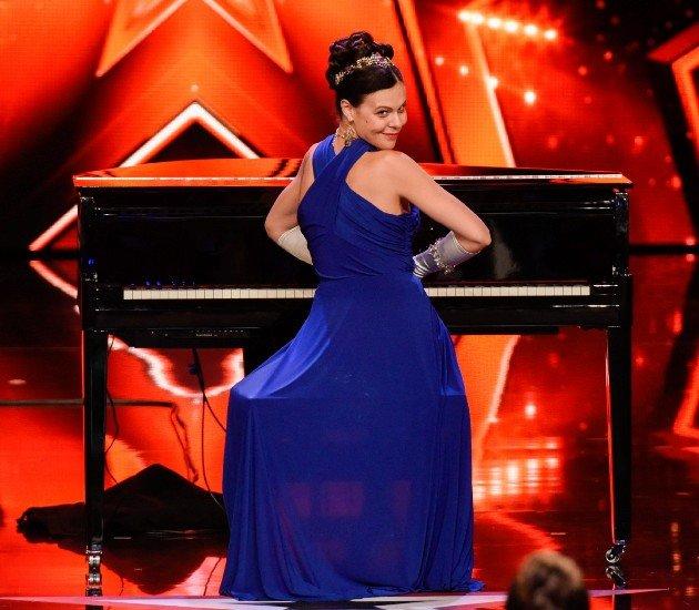 Federica La Pondi beim Supertalent am 11.11.2017