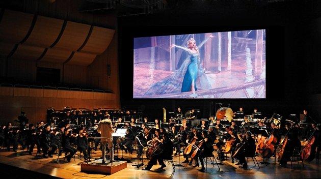 Foto aus dem Konzertsaal - Disney in Concert - Die Eiskönigin