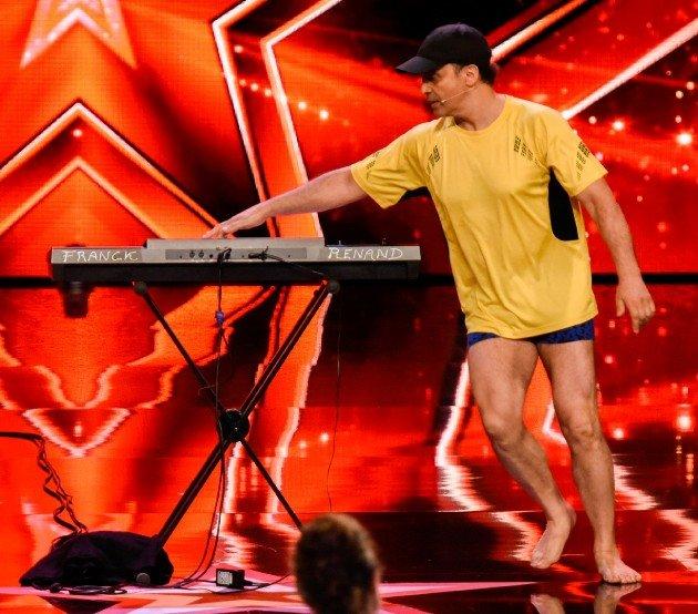 Franck Renand beim Supertalent am 11.11.2017