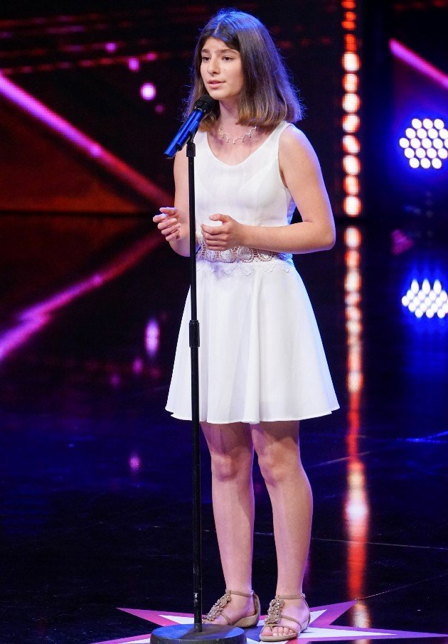 Hanan Yazji beim Supertalent am 11.11.2017