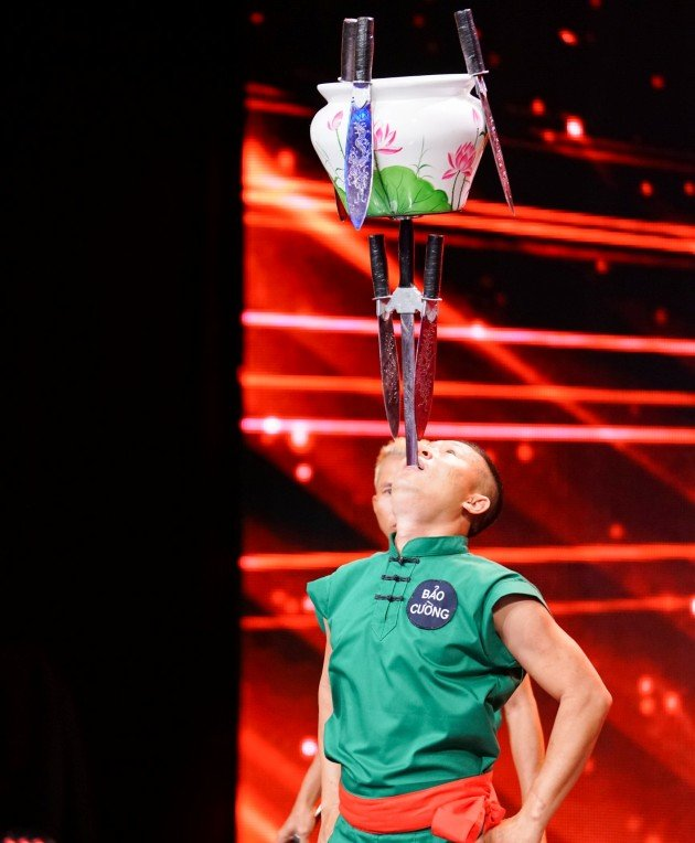 Huynh Huy Cuong beim Supertalent am 25.11.2017