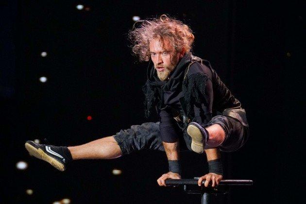 Ihor Yakymenko beim Supertalent am 4.11.2017
