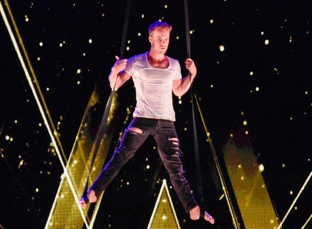 Jason Brügger beim Supertalent am 11.11.2017