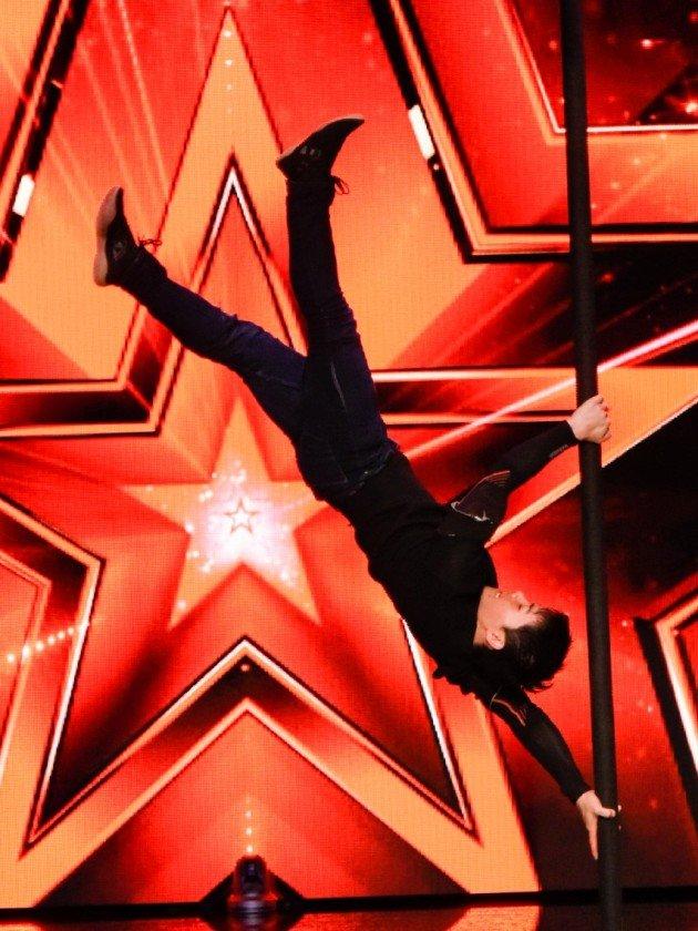Kai Hou beim Supertalent am 11.11.2017