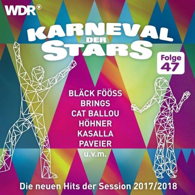 Karnevalslieder 2017-2018 - CD Karneval der Stars 47