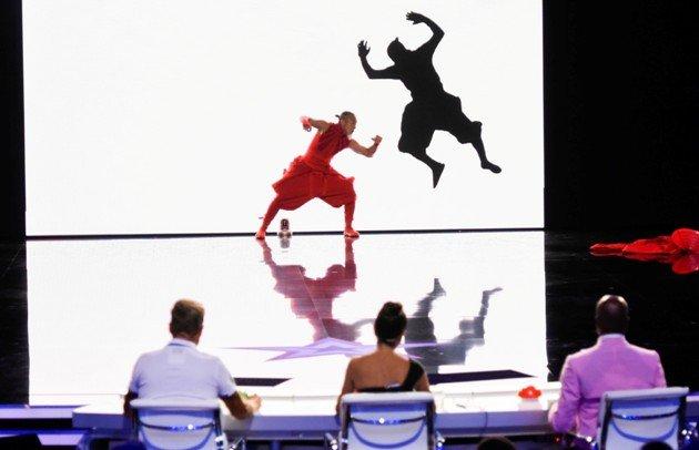 Katsumi Sakakura beim Supertalent am 4.11.2017