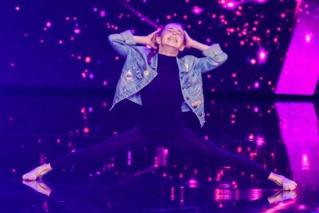 Leni Hein beim Supertalent am 4.11.2017