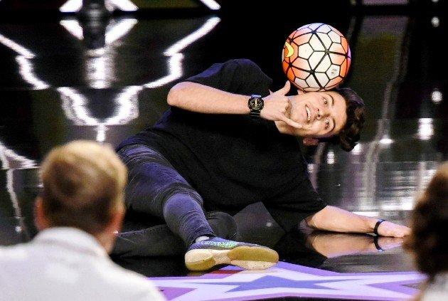 Marcel Gurk beim Supertalent am 18.11.2017