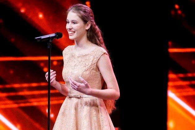 Mireya Derksen beim Supertalent am 25.11.2017