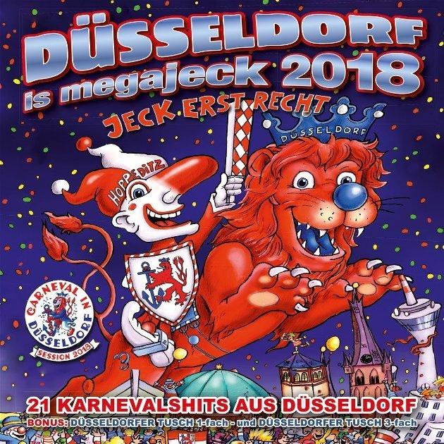 Musik im Düsseldorfer Karneval - Düsseldorf ist megajeck 2018