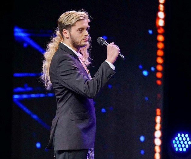 Tiago Rodrigues beim Supertalent am 25.11.2017