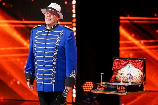 Ulrich Wittwer beim Supertalent am 25.11.2017