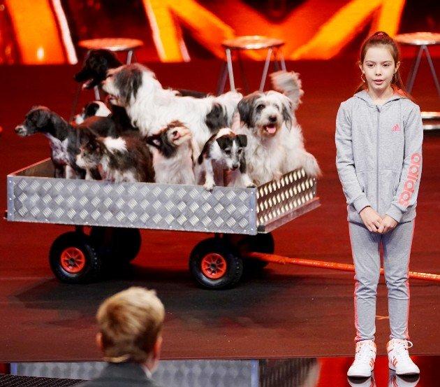 Alexa Lauenburger und ihre Hunde - Kandidatin im Finale Supertalent 2017