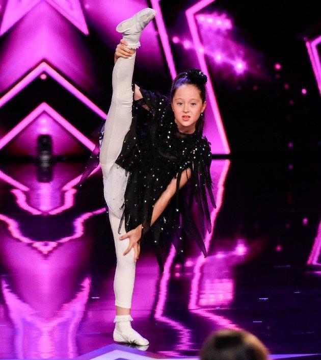 Anita Saidov beim Supertalent am 2.12.2017