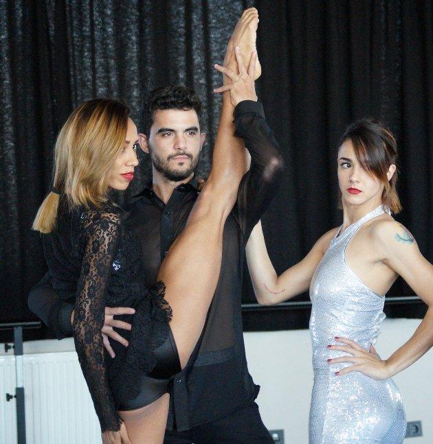 Ballet Revolucion 2018 Tänzer Barbara Lisandra Patterson Sanchez, Julio Enrique Blanes Miranda und Jennifer Tejeda Meneses
