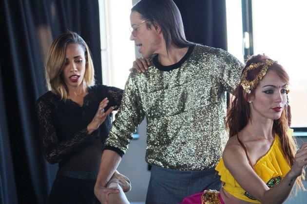 Barbara Lisandra Patterson Sanchez, Jorge Gonzalez und Mariem Valdes Martínez