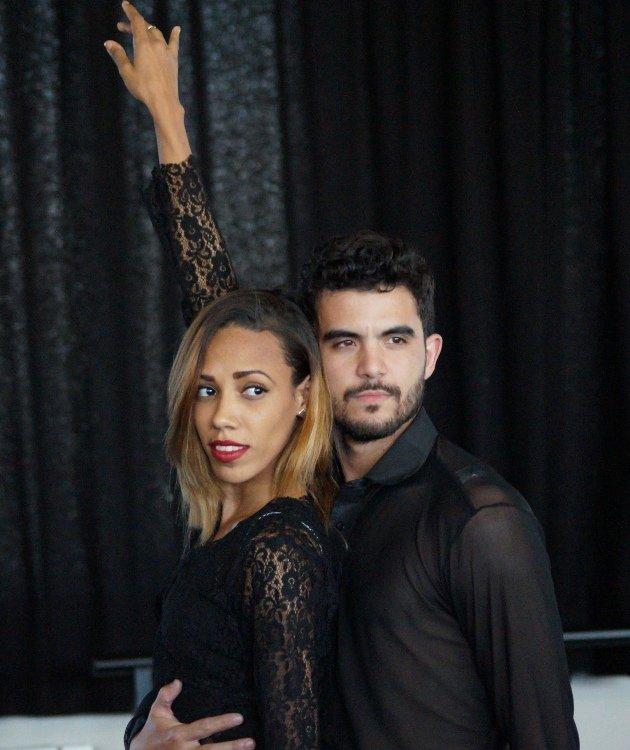 Barbara Lisandra Patterson Sanchez und Julio Enrique Blanes Miranda - Tänzer bei Ballet Revolucion 2018