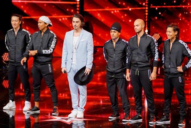 Break the Tango beim Supertalent 2017 am 9.12.2017 Halbfinale