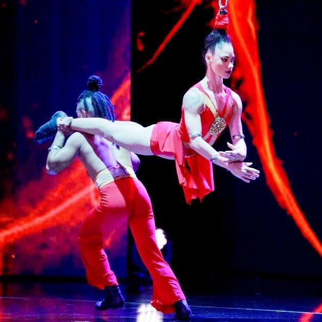 Duo Nigretai beim Supertalent 2017 am 9.12.2017 Halbfinale