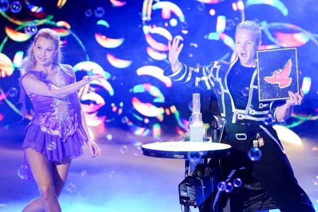 Fantasy Bubble Show - Svetlana und Sergey Chuyko beim Supertalent 2017 am 9.12.2017 Halbfinale