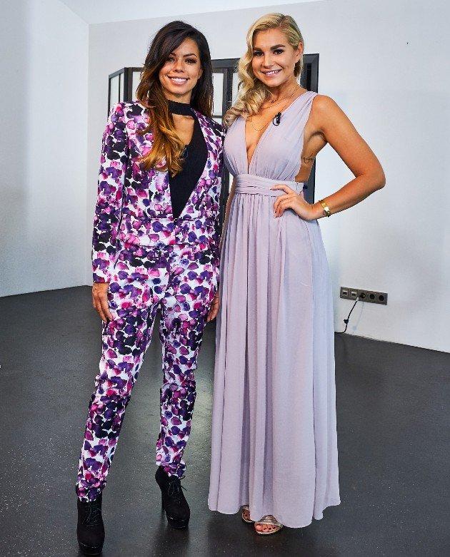 Fernanda Brandao und Sandra bei der Shopping Queen des Jahres am 17.12.2017