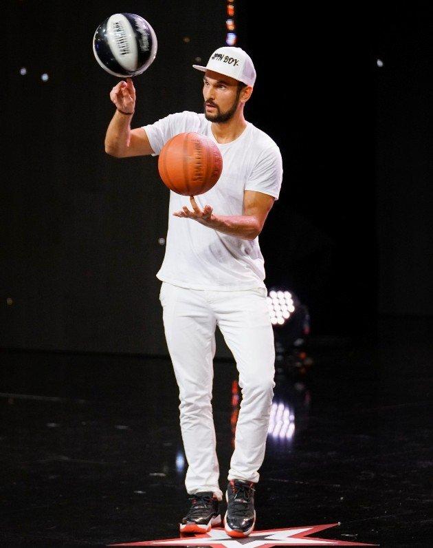 Louis Lebredonchel beim Supertalent am 2.12.2017