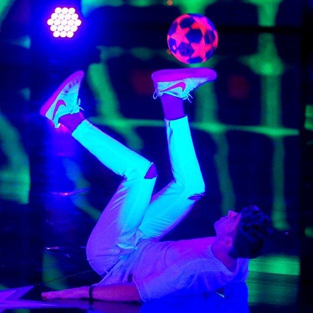 Marcel Gurk beim Supertalent 2017 am 9.12.2017 Halbfinale