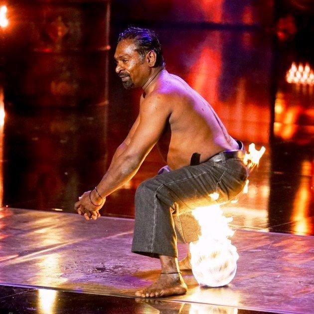 Ramesh Doss beim Supertalent 2017 am 9.12.2017 Halbfinale
