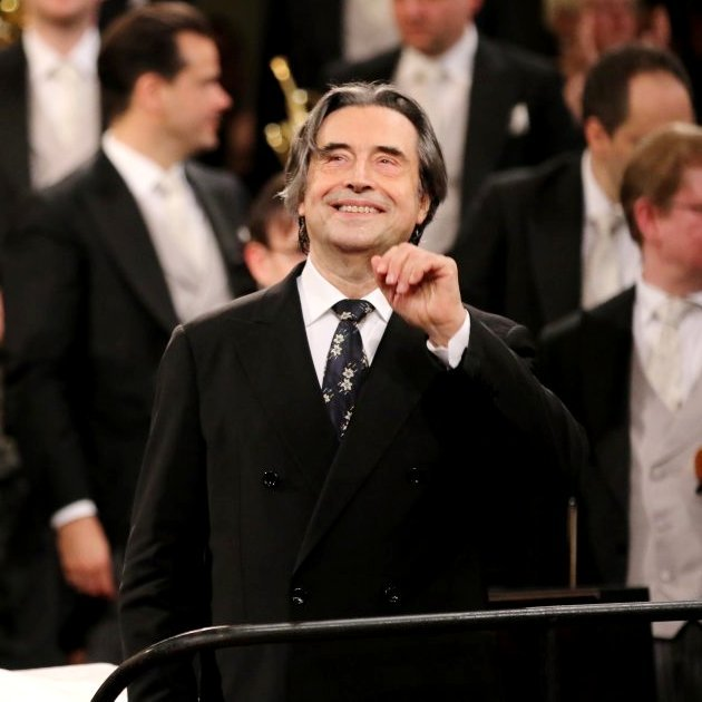 Riccardo Muti - 2018 Dirigent Neujahrskonzert Wiener Philharmoniker